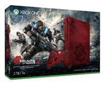 Console Xbox One 2 Tera 4K Microsoft Edição Especial Limitada Gears of War 4 -