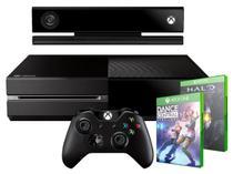 Console Xbox One 500GB Controle Wireless c/ Kinect - Blu-Ray 2 Jogos - Microsoft