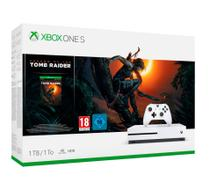 Console Xbox One S 1 Tera 4k + Jogo Shadow of Tomb Raider 2019 - Microsoft