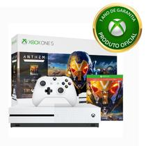 Console Xbox One S 1TB + Anthem Legion Of Dawn - Microsoft
