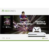 Console XBOX ONE S 1TB Branco PES 2020 + Controle sem fio - Microsoft