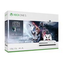 Console xbox one s 1tb + jogo star wars jedi: fallen order  microsoft -