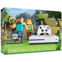 Console Xbox One S 500GB Bundle Minecraft - Microsoft