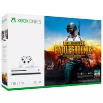 Console Xbox One S Microsoft 1 tera + Battlegrounds Game Pass Live Gold