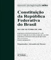 Constituicao Da Republica Federativa Do Brasil - 42 Ed - Atlas - concurso -