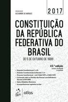 Constituiçao da republica federativa do brasil - Atlas editora -