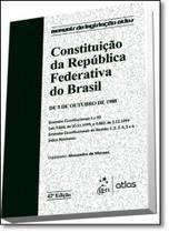 Constituição da República Federativa do Brasil: De 5 de Outubro de 1988 - Coleção Manuais de Legislação Atlas - Atlas juridico - grupo gen