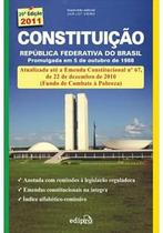 Constituiçao republica federativa do brasil - Edipro -
