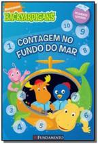 Contagem no fundo do mar - colecao backyardigans - Fundamento -