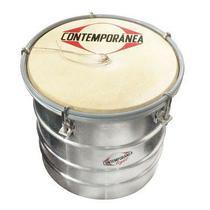 Contemporânea Cuica 6 Polegadas Alumínio + Couro Light 115lt -
