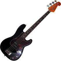 Contra Baixo Sx 4 Cordas Precision Bass Spb62 Preto C/ Bag -