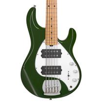 Contrabaixo 5C Music Man Sterling Sub Ray 5 Oliva - Ernie Ball