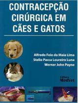 Contracepção Cirurgica dem Cães e Gatos - Editora Medvet