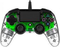 Control p/play 4 nacon verde c/fio wireles - Vila Brasil