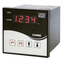 Controlador De Temperatura Digital 200V SSR 96X96mm Digimec -