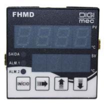 Controlador De Temperatura Digital Bivolt A Relé Digimec -