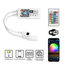 Controlador Para Fita de Led RGB Sem Fio Wifi Casa Conectada Compatível Com Alexa Google Assistant - Magic Home