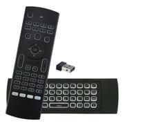 Controle Air Mouse Led Teclas Iluminadas - Tv smart - Ps4 - Xbox One Etc - Lelong