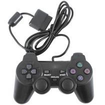 Controle Analógico Compatível com Ps2 e PS1Com Fio - Lordtec -