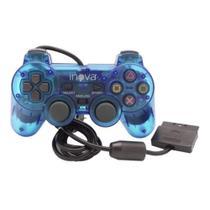 Controle Analógico DualShock PS2  - Com fio Inova -