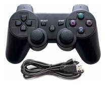 Controle Analogico Para PS3 Led Dulploshock 3 Com Fio na Caixa - Clink