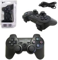 Controle Analogico Para PS3 Led Dulploshock 3 Wirelles - Mb