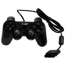 Controle Analogico Playstation 2 Preto FLEX Compativel
