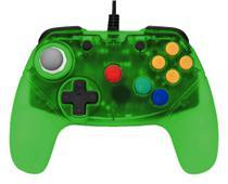 Controle Brawler64 Nintendo 64 N64 Verde Retro Fighters -