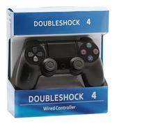 Controle Com Fio Joystick Wired Double Motor Vibration 4 Compatível PS4 - Altomex