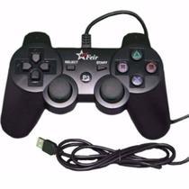 Controle Com Fio para Playstation 3 e PC - Feir FR-205A -