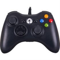 Controle Com Fio Para Xbox 360 E Pc Preto Xgc101 Fortrek -