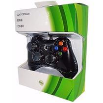 Controle Com Fio Para Xbox 360 Slim / Fat E Pc Joystick - Feir - King