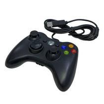 Controle com fio USB Preto - Inova -