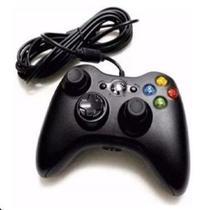Controle Com Fio Xbox 360 E Pc Slim Joystick - Gamer Pro -