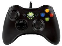 Controle com Fio Xbox 360 - Microsoft
