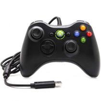 Controle Com Fio Xbox 360 Pc Computador 2 Metros Cabo Usb X-box Notebook - Feir