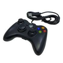 Controle com fio Xbox USB Preto - Inova -