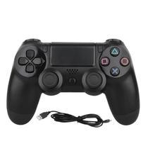 Controle Compatível com Ps4 Dualshock Wireless Play 4 Sem Fio Preto - Game Intelligence