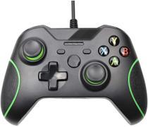 Controle compativel para manete Xbox One Com Fio -  preto marca j.x - M.A