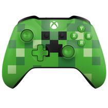 Controle de Xbox One - Wireless - Minecraft - Microsoft -