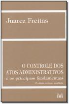Controle dos Atos Administrativos - Malheiros -