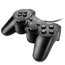 Controle Dual Shock Playstation 2 Multilaser JS043 Preto