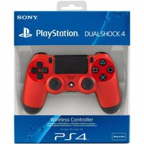 Controle Dual Shock Red Ps 4 - Sony