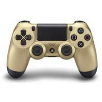 Controle Dualshock 4 Gold - Sem Fio - PS4 Dourado - Sony Playstation 4 - Sony interactive entertainment