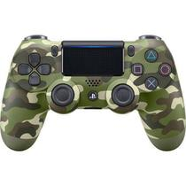 Controle Dualshock 4 Green Camouflage - PS4 - Playstation