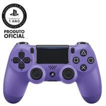 Controle Dualshock 4 Playstation 4  Roxo Elétrico Original + Brinde - Sony