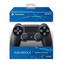 Controle  Dualshock compatível  PS4 Sem Fio (Preto) Original -