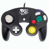 Controle Game Cube USB/PC Preto - Play Game