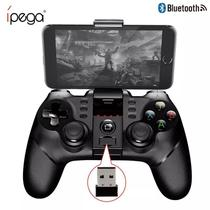 Controle Game Joystick Bluetooth Modelo PG-9076 Android Iphone Ios Tablet Ipad Pc IPEGA -