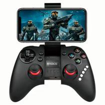 Controle gamepad wireless sem fio hs-810 hrebos -